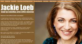 JACKIE LOEB - OFFICIAL WEBSITE: Site designed by Epod for the multi-talented, Jackie Loeb! Jackie is a comedian, musician, vocalist, writer, and film maker!