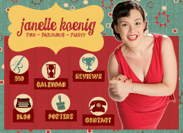 JANELLE KOENIG OFFICIAL SITE:  Official website of Janelle Koenig designed by epod.