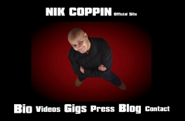 NIK COPPIN - OFFICIAL WEBSITE - Website designed by Epod for UK comedian, Nik Coppin. Site includes videos, press, bio and more!